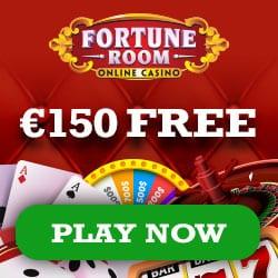 Fortune Room Casino €150 gratis (100% bonus) and 100 free spins