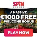 Spin Casino $1000 bonus and free spins