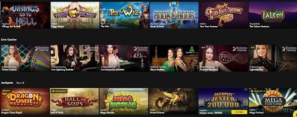 Bethard Casino new games