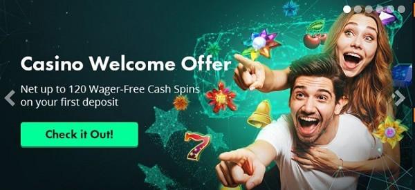 VoltCasino welcome bonus