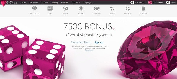 300% bonus up to 750 EUR and 100 gratis free spins on deposit