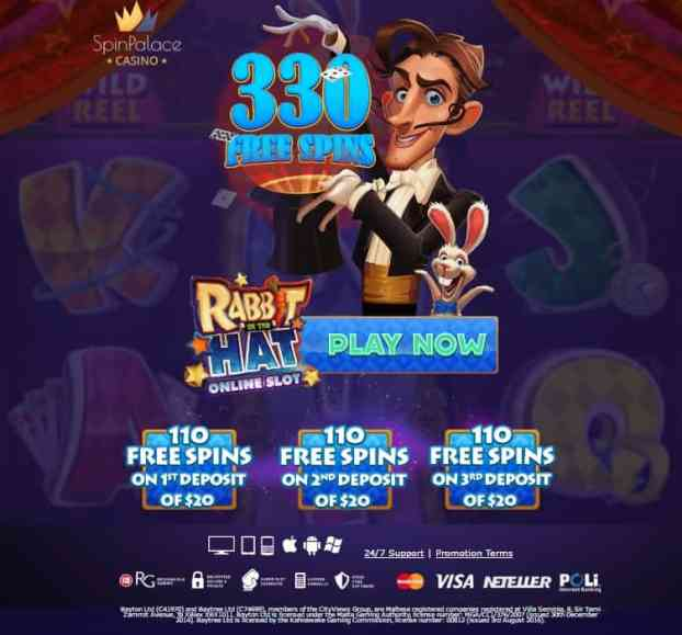 Spinpalace Casino Review