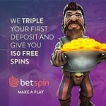 Betspin Casino €400 free bonus and 150 free spins - fast payments!