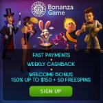 Bonanza Game Casino Review | 750 USD free bonus + 100 gratis spins