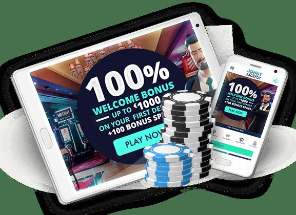 Jonny Jackpot Casino exclusive welcome bonus