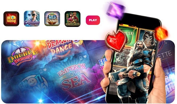 Spin Casino & Spin Sports mobile
