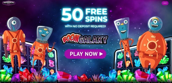 50 free spins no deposit bonus at Jackpot City Casino