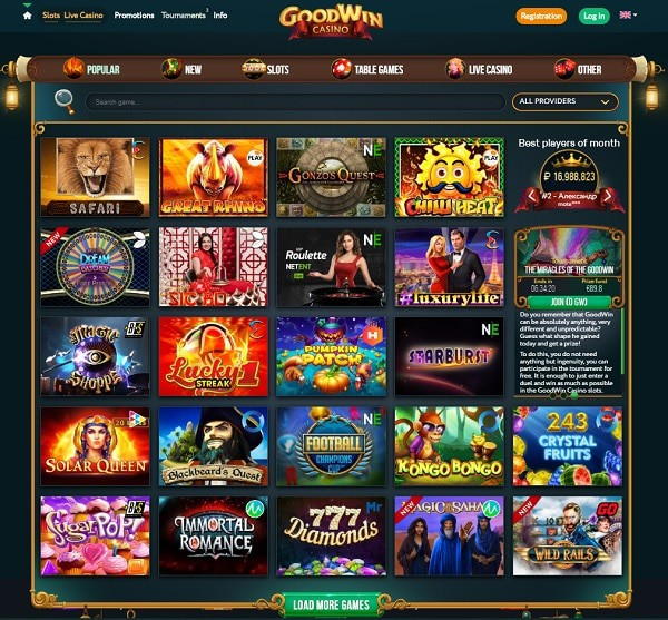 Good Win Casino Review