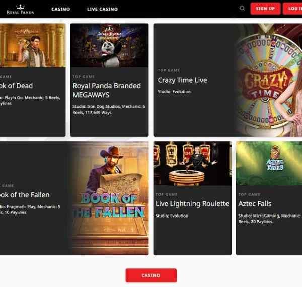 Royal Panda Casino Review and Exclusive Bonus