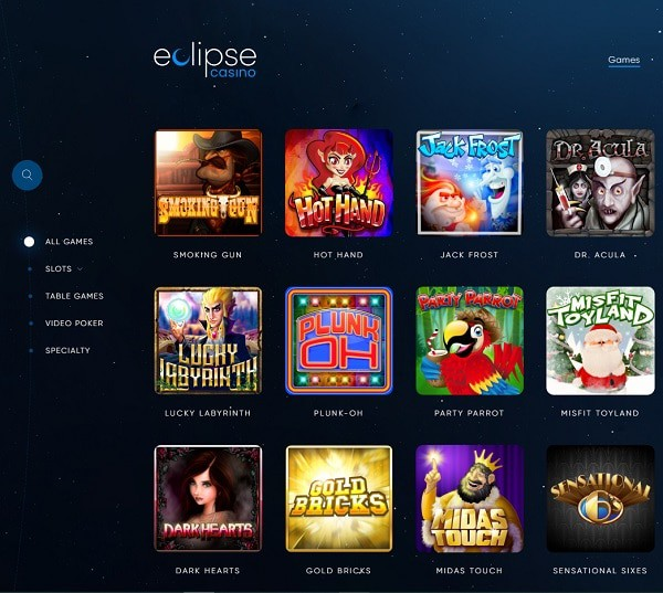 Eclipse free spins