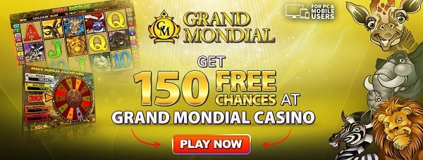 Play free spins on Mega Moolah progressive slot