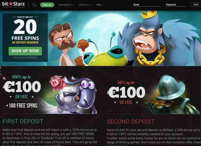 BitStarz Casino free spins