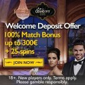 Grand Ivy Casino 25 gratis spins and 100% up to €300 bonus
