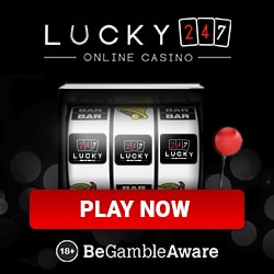 Lucky247.com Casino - 50 free spins and $/€/£500 bonus on deposit