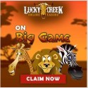 Lucky Creek Casino – 50 free spins bonus – Saucify, Rival, BetSoft