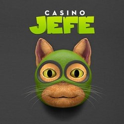 Casino JEFE 11 free spins on Spiñata Grande slot - no deposit bonus