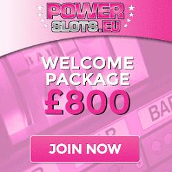 Power Slots Casino 200% bonus on first deposit! Get €800 free spins!
