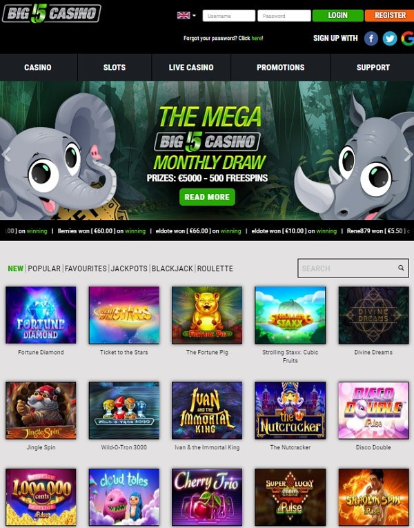 Big5Casino.com review