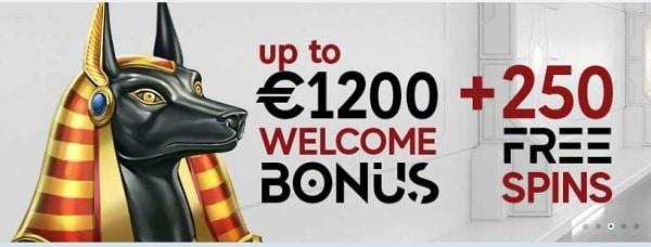 GoPro Casino 1200 EUR free bonus