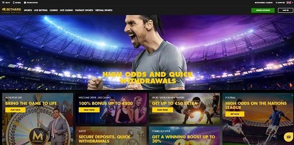 Bethard Casino video slots