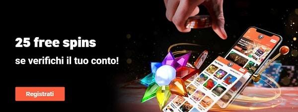25 gratis spins to LeoVegas
