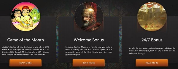 Slots Empire Exclusive Bonuses and Daily Promotions