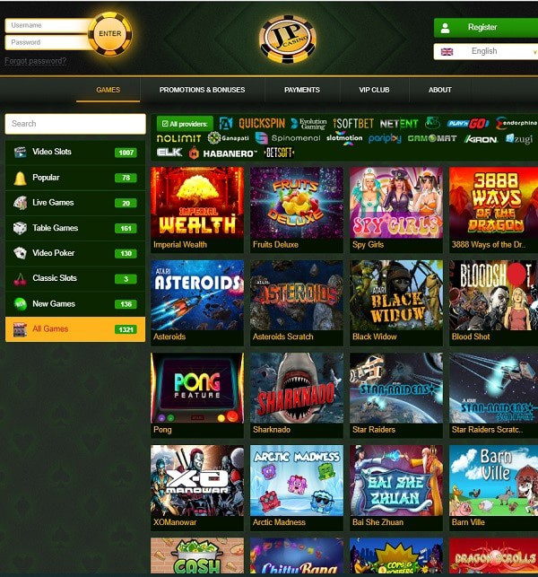 Games, Promotions, Free Chips