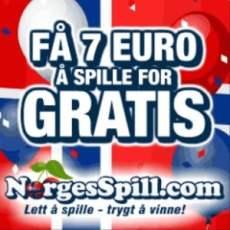 NorgesSpill Casino €7 gratis spins + €250 free bonus (Norway)