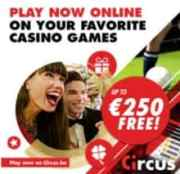 Circus Casino free spins