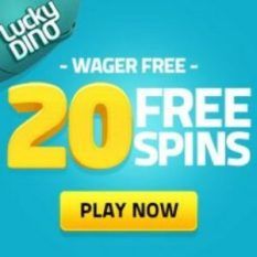 Lucky Dino Casino 120 free spins and 150% up to €400 bonus