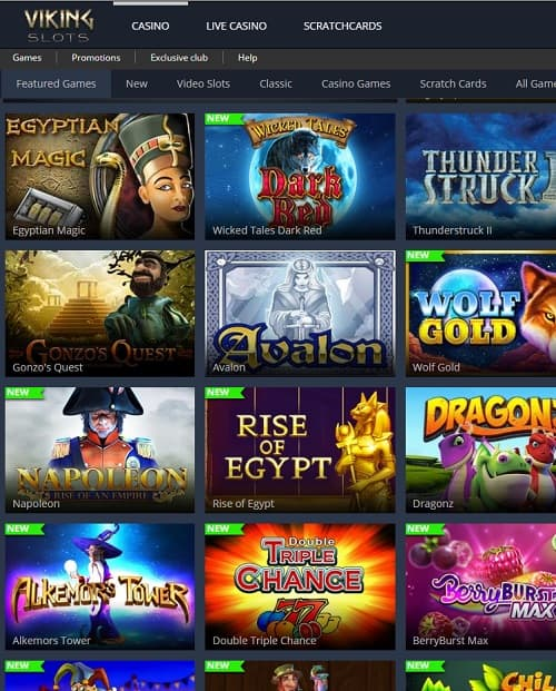 Viking Slots Casino Review