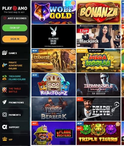 Playamo Casino gratis bonus