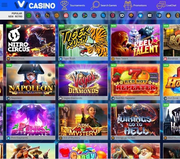 IVI Casino online and mobile
