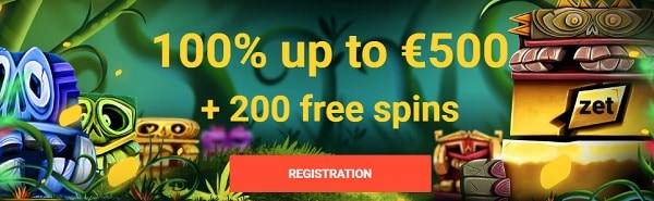 Zet Casino free bonus and free spins