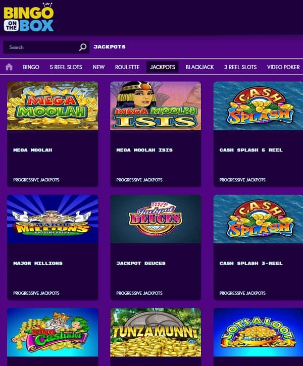 Bingo On The Box Casino Online and Mobile Review
