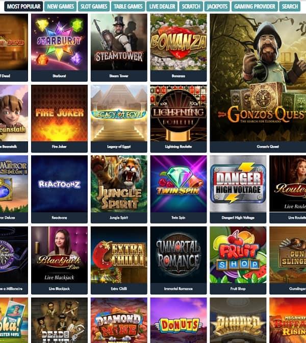 jonnyjackpot.com free games