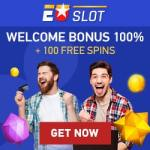 Euslot Casino 100 free spins and 100% up to €100 deposit bonus