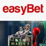 EasyBet Casino 10 free spins no deposit + 700€ welcome bonus