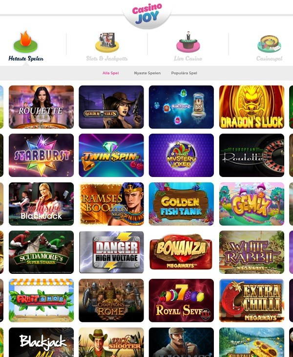 CasinoJoy.com review