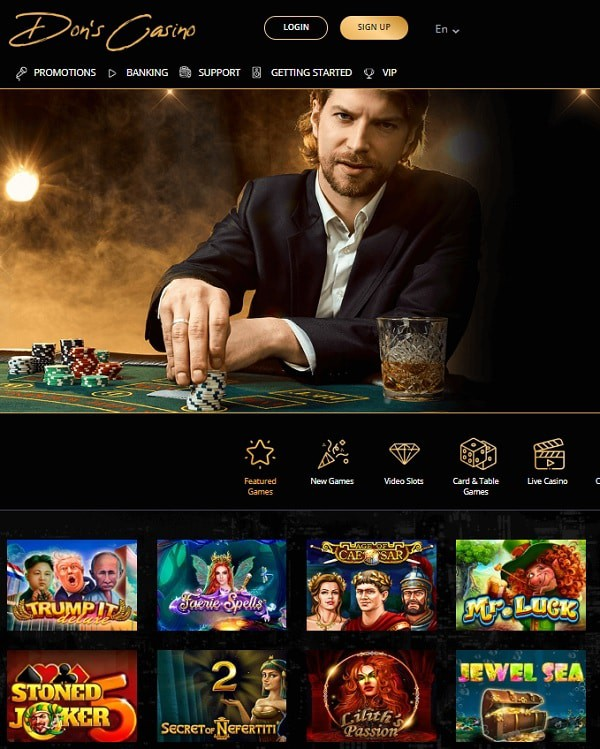 Dons Casino review