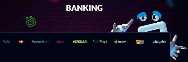 Wild Jackpots Casino banking and support