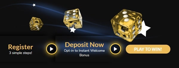 Open your account to claim welcome bonus!