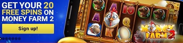 Mongoose Casino 20 free spins bonus without deposit