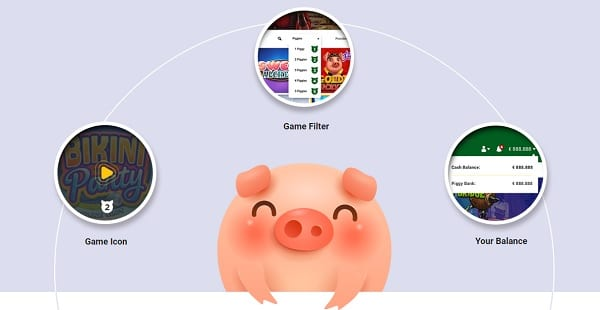 Piggy Bang Casino cashback bonus and promotions