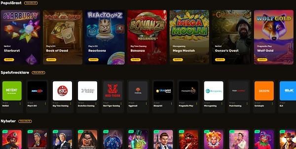 Go Go Casino games and software