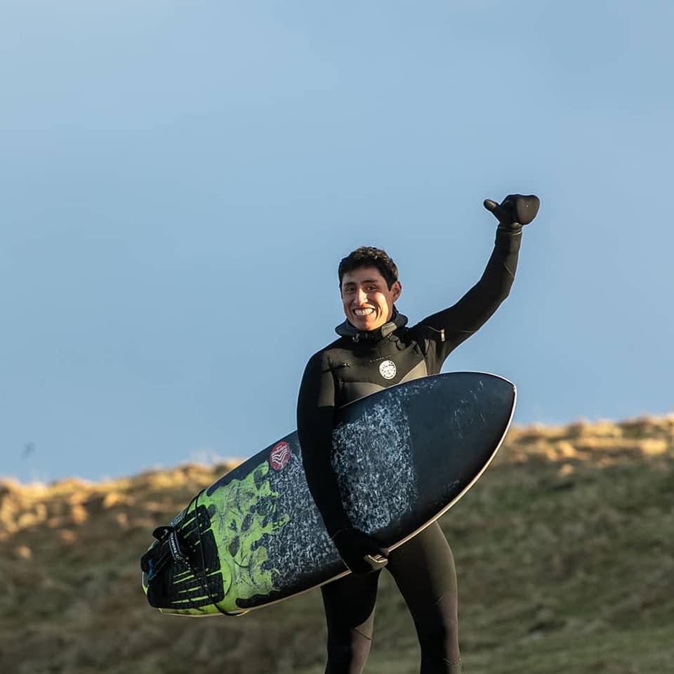 Omar Ayala surfing freesport 2