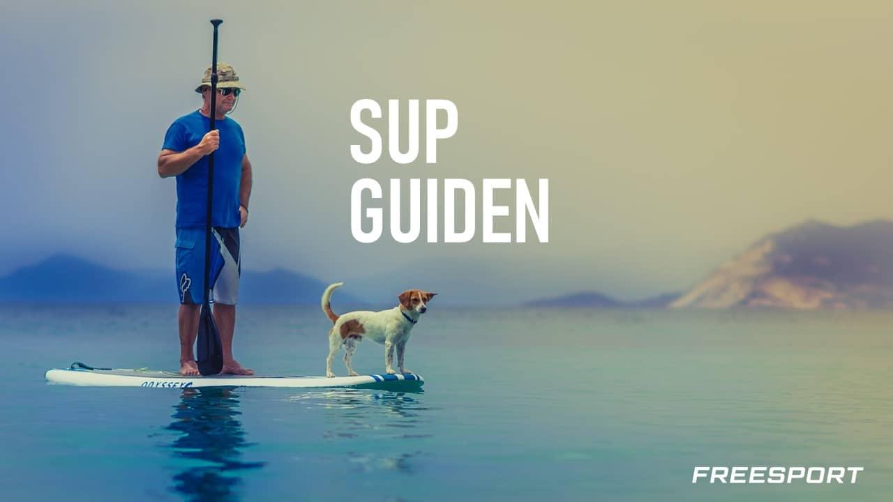 SUP Guiden Norge kjøp kurs lære informasjon