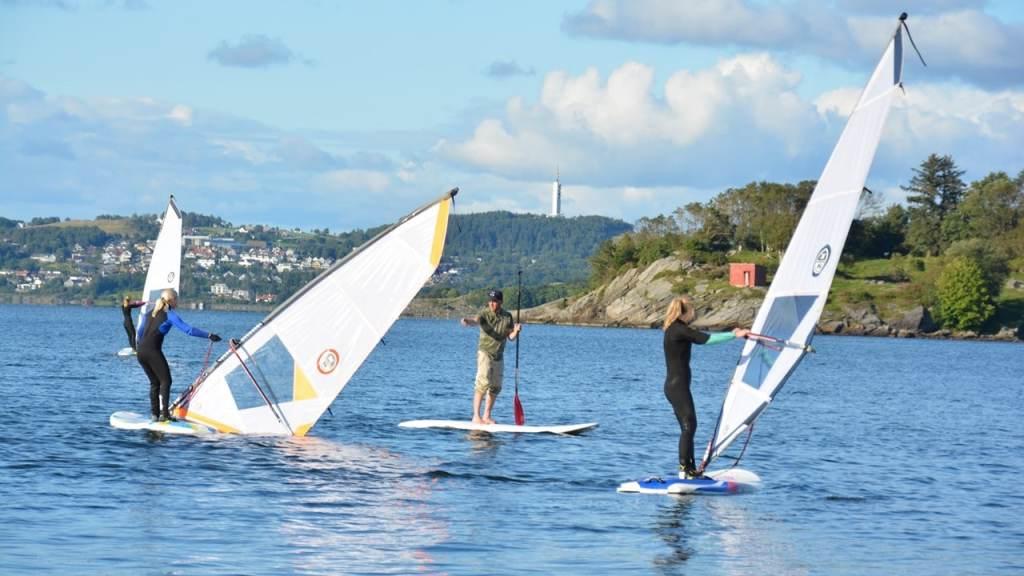 windsurfing kurs nybegynner sola