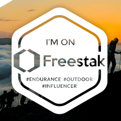 Freestak Endurance Sports Influencer Platform - Badge Mountaineer