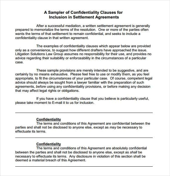confidentiality statement template image 222